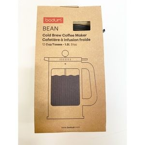 NWT Cold Brew Coffee Maker